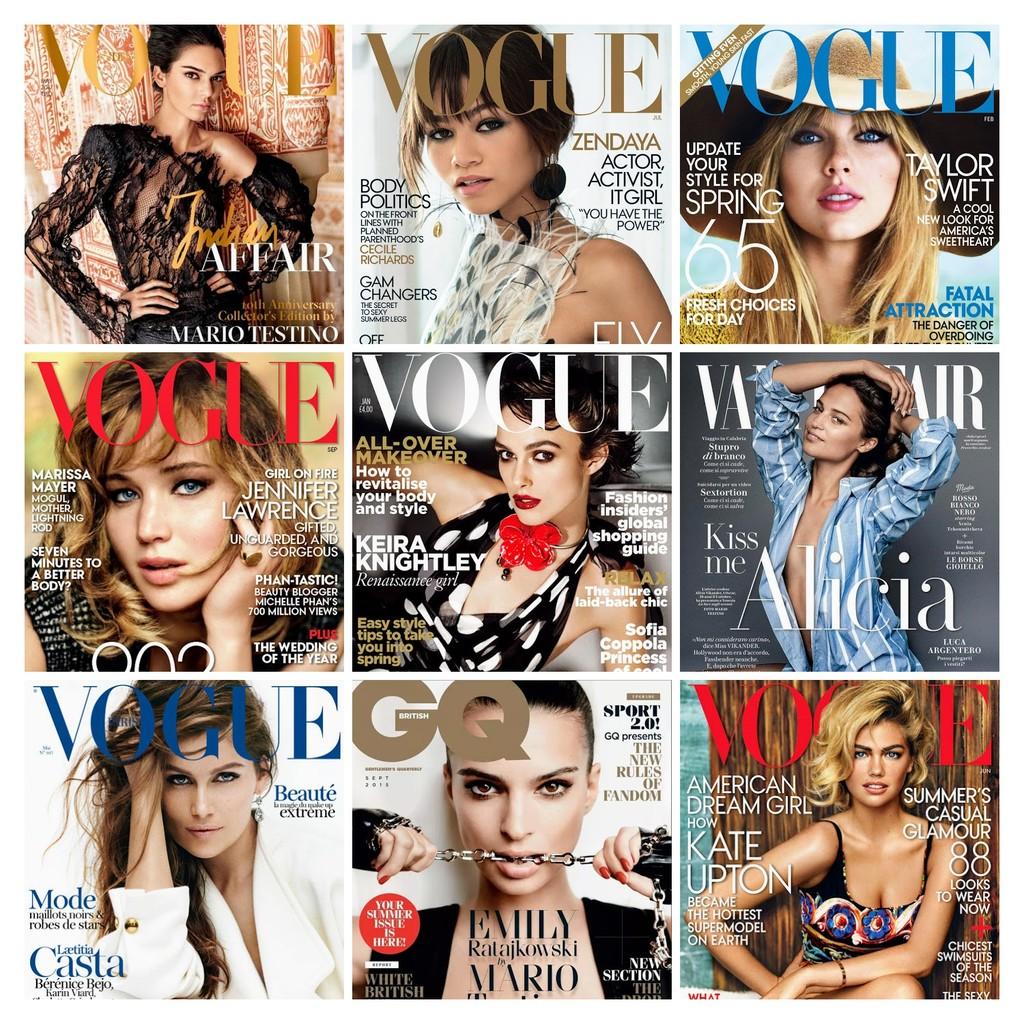00 Fashion Magazine Covers by Mario Testinos