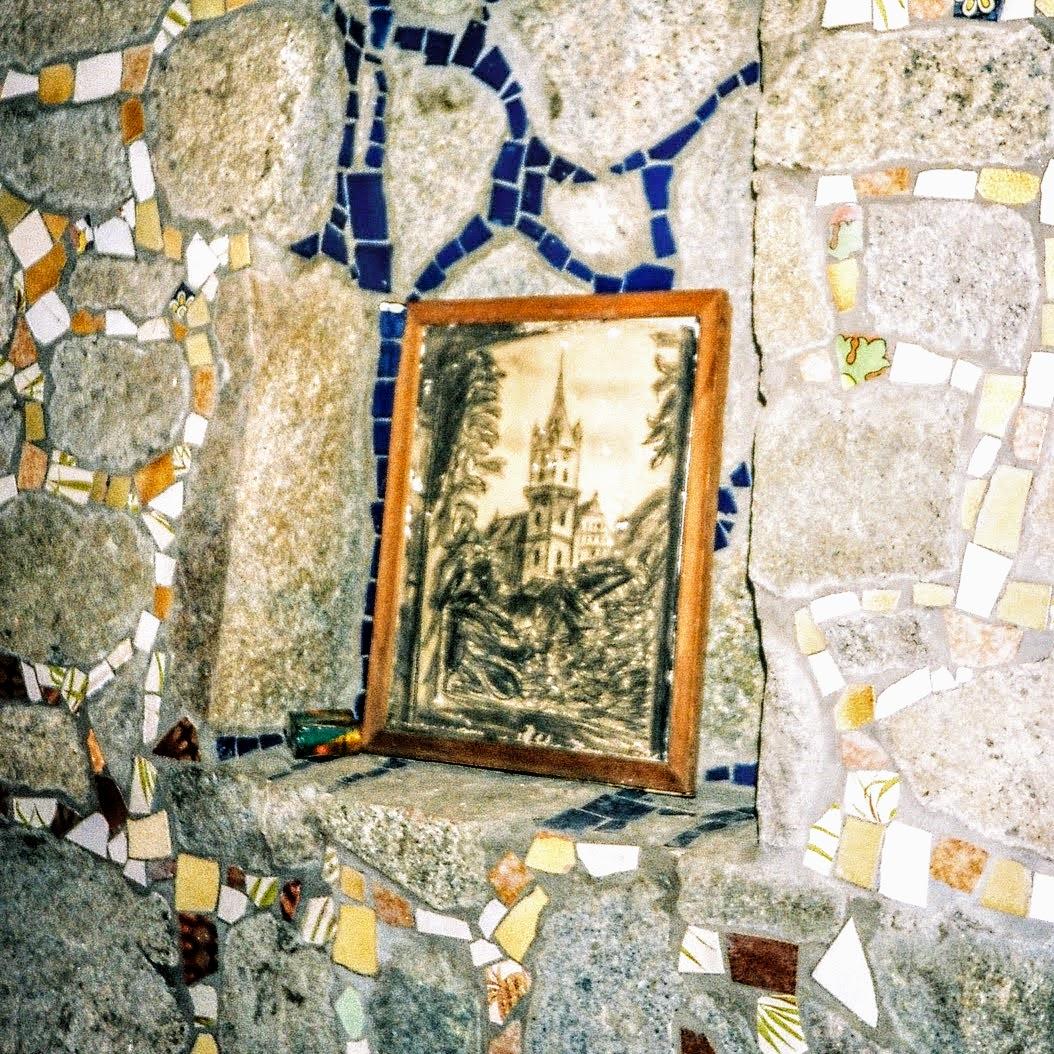 02 Litografia Bisericii Evanghelice din Bistrița