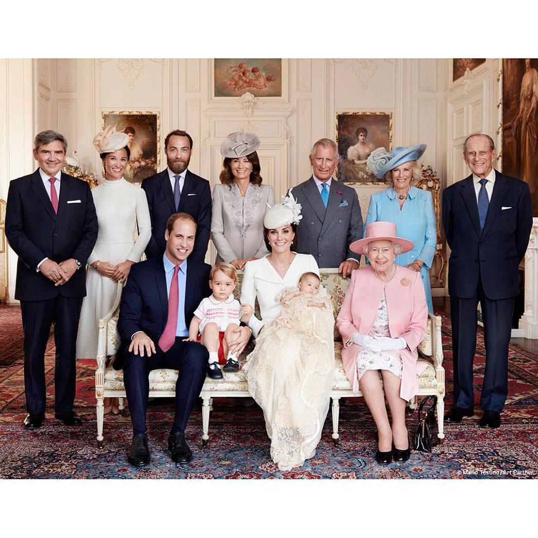 03 British Royal Family - Mario Testino Photo