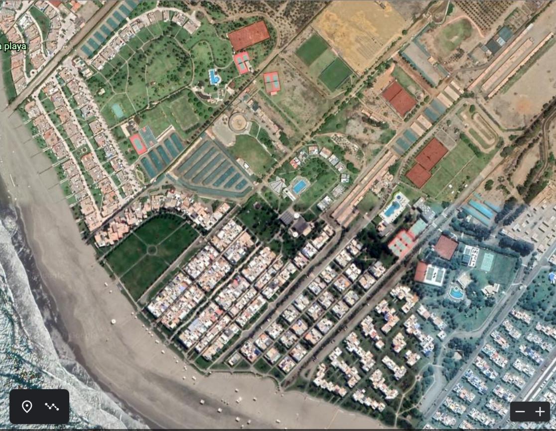 09 Imagine Google Earth a Zonei Clubului La Isla