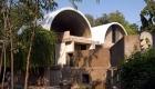 Sangath - propriul atelier din Ahmedabad