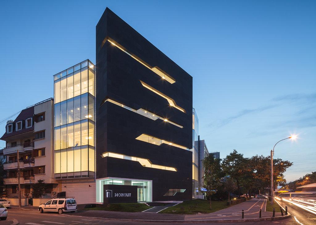 Gallery Of Monolit Office Building Igloo Architecture: Birouri Monolit