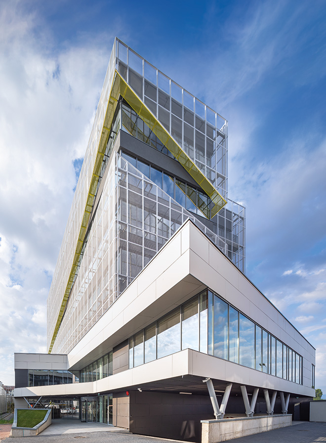 Office building by SQMA in Sibiu , Romania