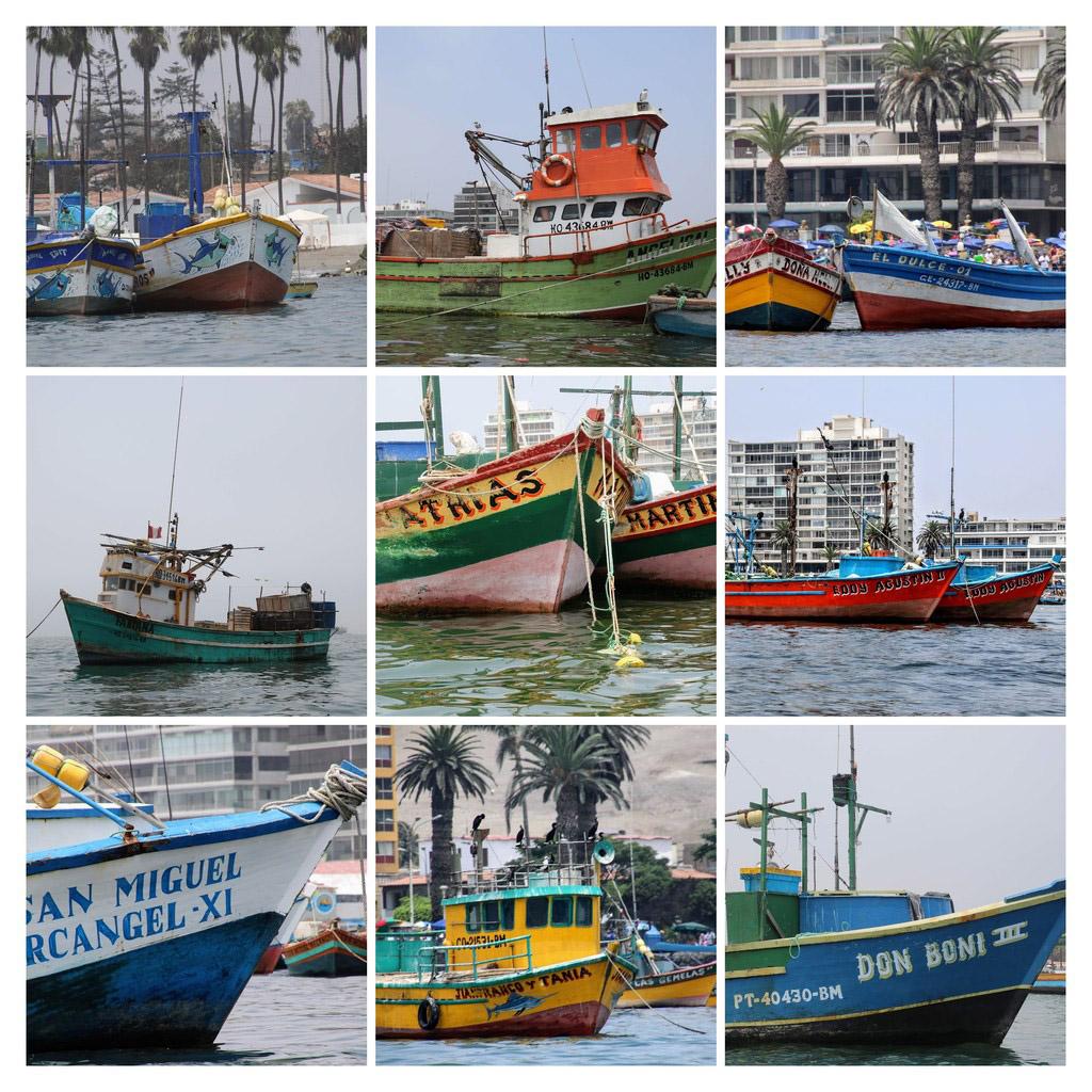 20 Ambarcațiunile Pescarilor din Portul Ancon
