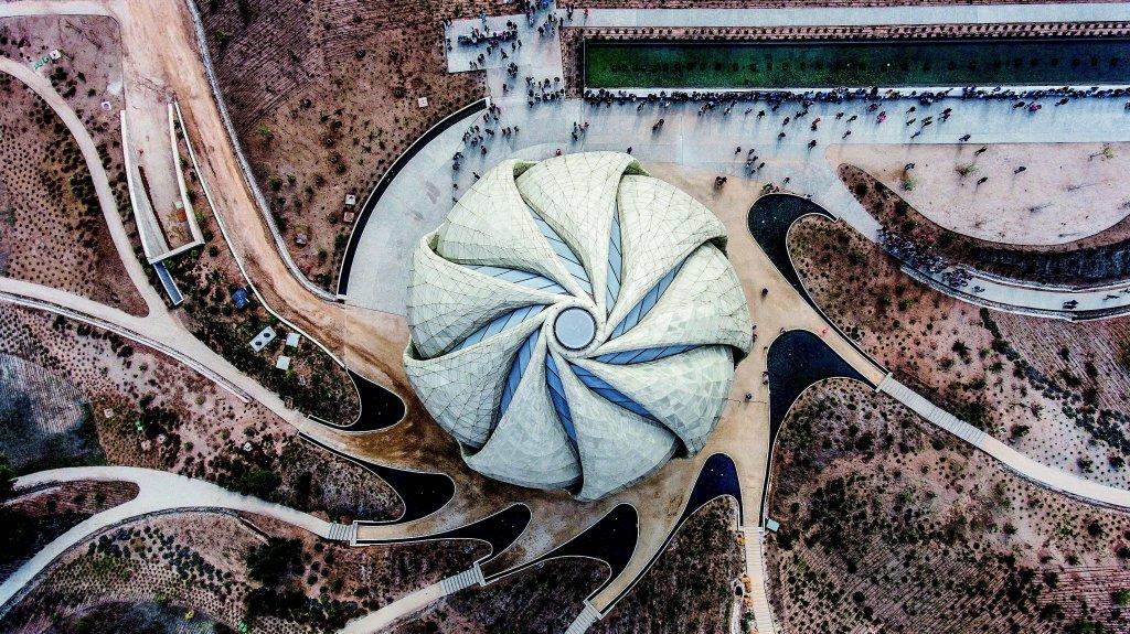 Exteriorul Templului, Foto: Andrés Silva
