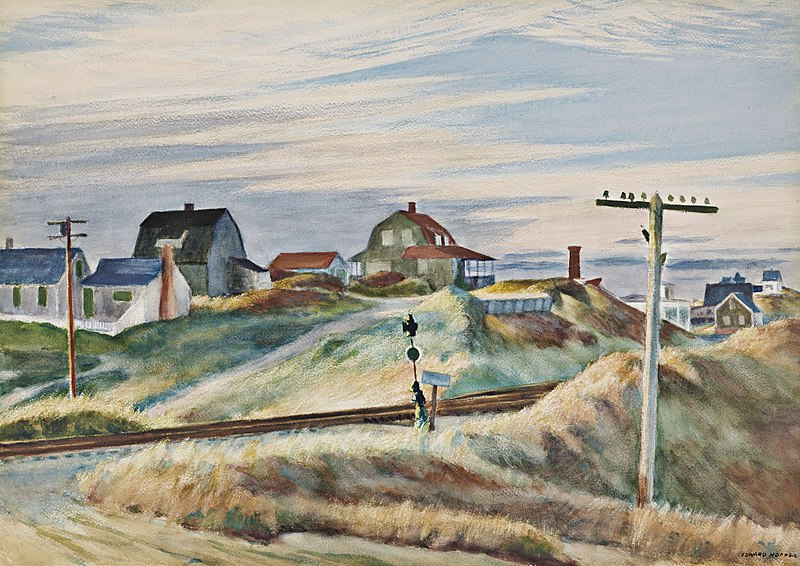 Edward Hopper, Cottages at North Truro (1938)
