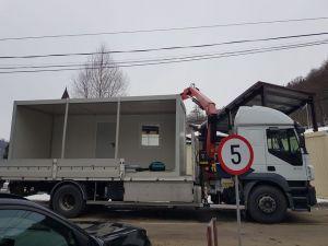 Asamblare container pentru primiri urgențe, Brașov