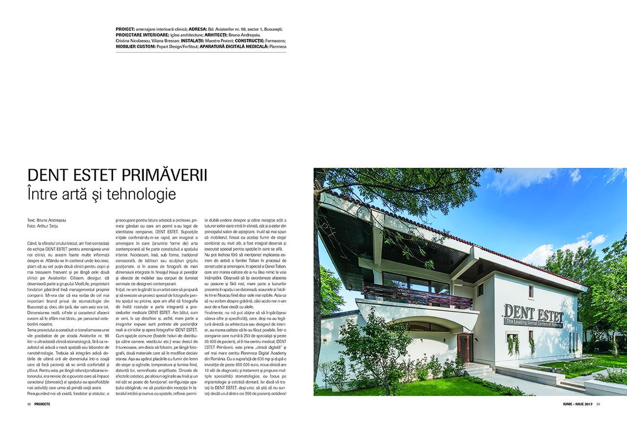 Amenajare interioară clinică, Igloo Architecture
