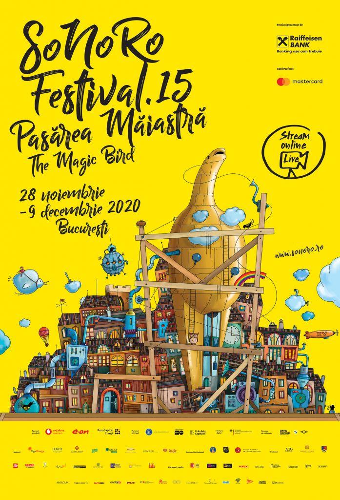Afiș Festivalul SoNoRo 2020_București