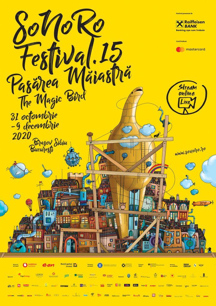 Afis Festivalul SoNoRo 2020
