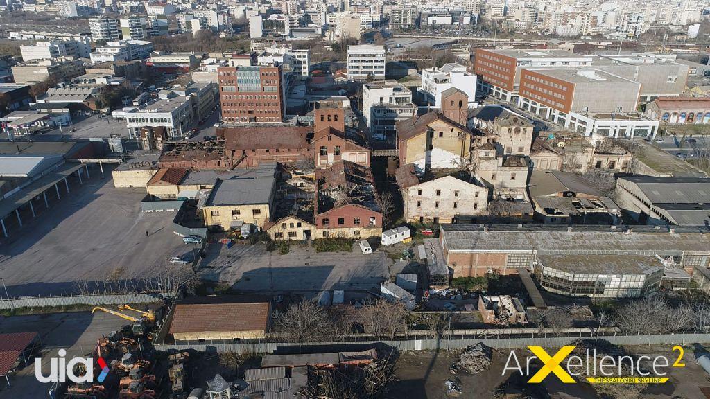 Latura de vest din Salonic, clădiri abandonate