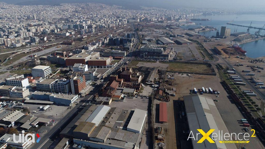 Latura de vest din Salonic, zona competiției