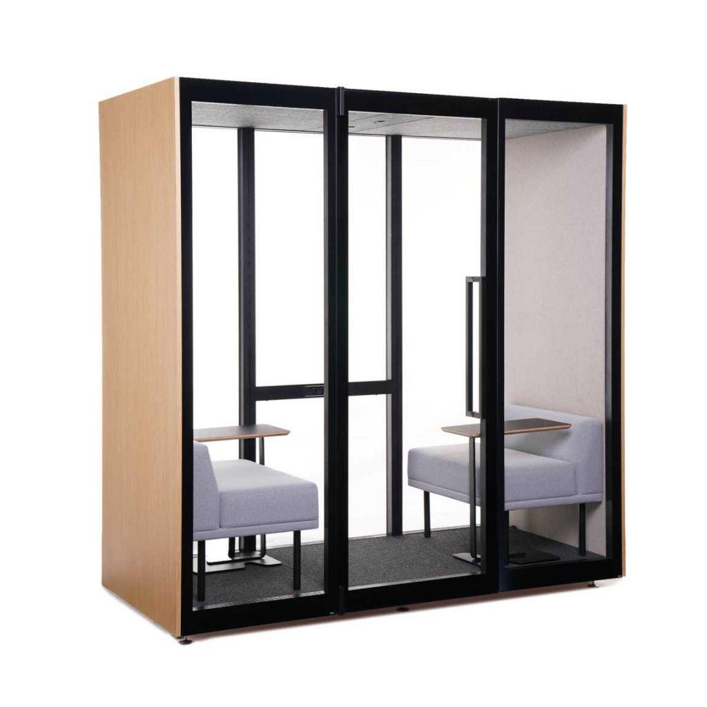 Askia R&D_Kamelon K2 - cabina acustica pentru 2 persoane (2)