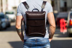 Bogdan Deliu Leather Design_rucsac din piele