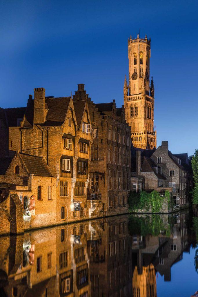 Canal în Brugges