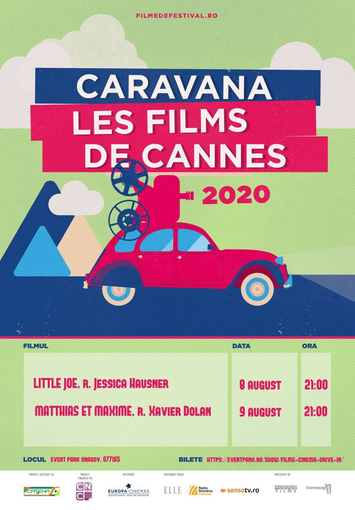 Caravana Les Films de Cannes a Snagov