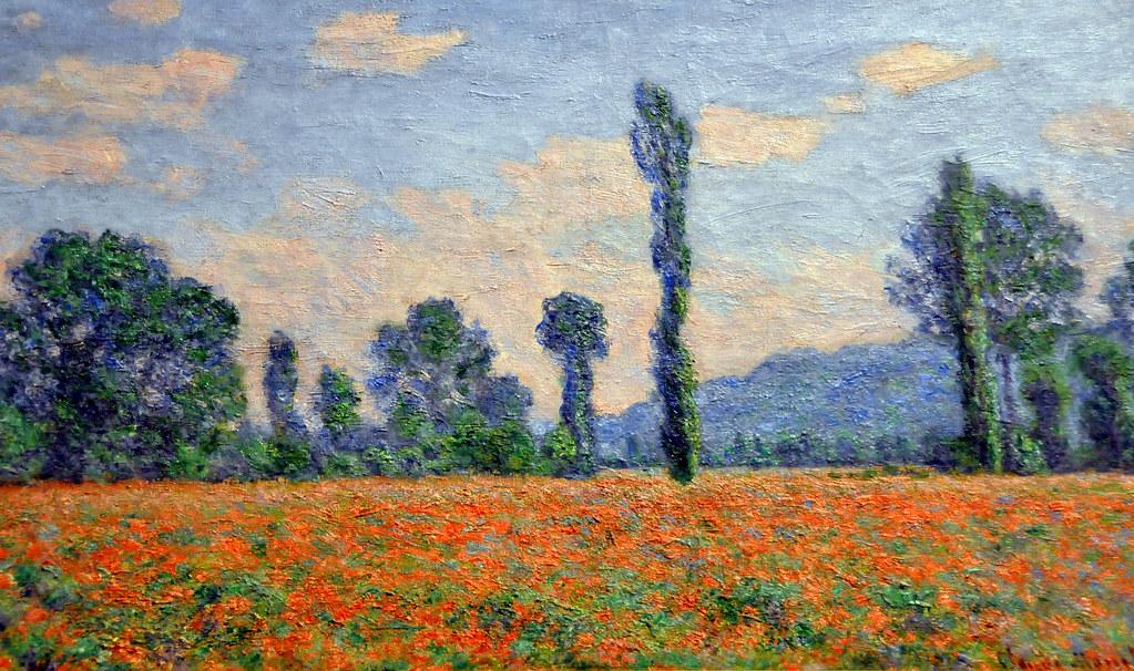 Claude Monet, Câmp cu maci (1890)