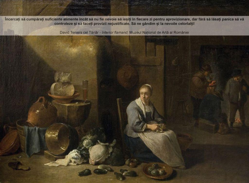 "David Teniers cel Tânăr, ""Interior flamand"", MNAR"