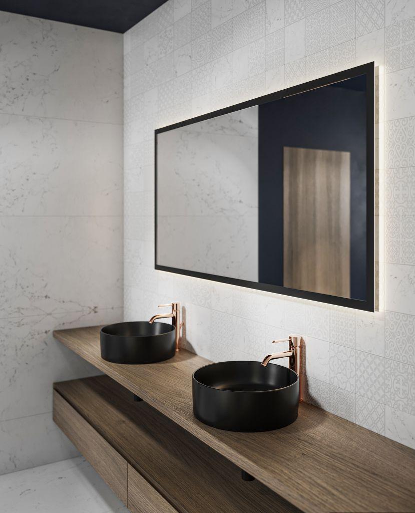 Design baie - lavoar COLOR negru (3)