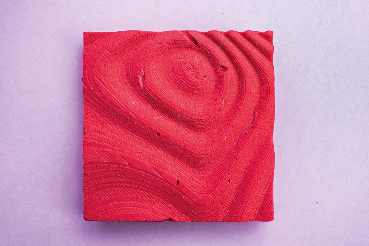 E-piele, variație dinamică de textură și materialitate.