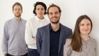echipa curatorială a participării Elveției: Li Tavour, Alessandro Bosshard, Ani Vihervaara Matthew van der Ploeg
