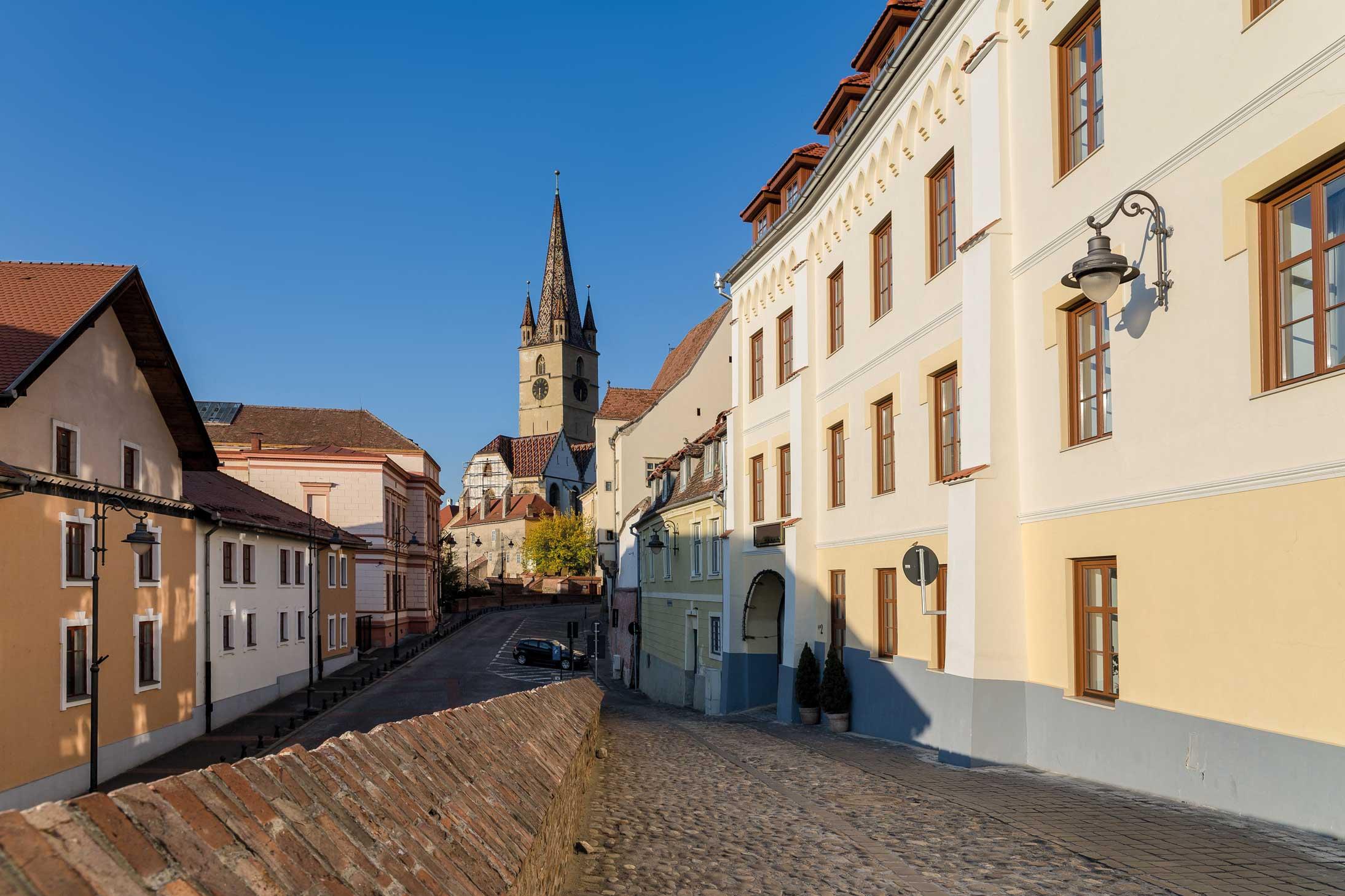 În vreme de pandemie, Sibiu