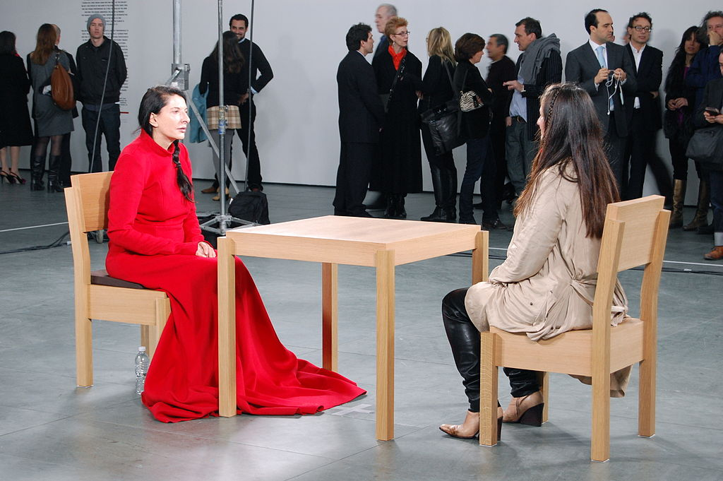 Marina Abramović, The Artist is Present (2010)