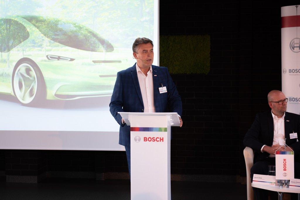Mihai Boldijar, director general al Robert Bosch SRL și reprezentantul Grupului Bosch în România