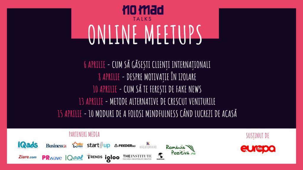 NO.MAD Talks Online Meetups_săptămâna 3