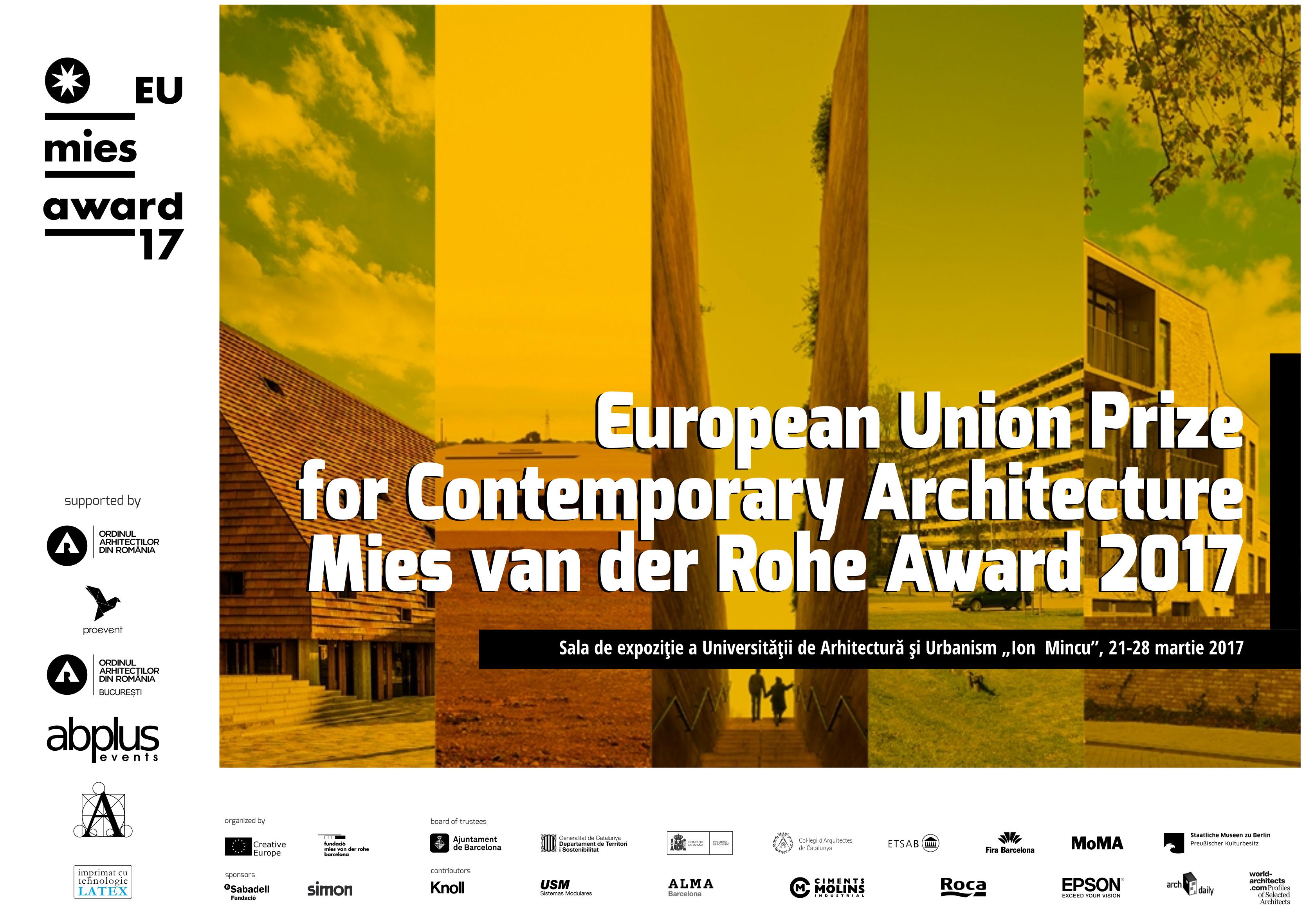 Thumbnail for O expoziție a Fundației Mies Van der Rohe, Barcelona, expusă în premieră în România