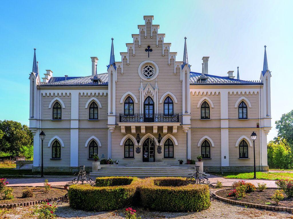 Palatul Cuza din Ruginoasa. Foto Mirela Săvulescu