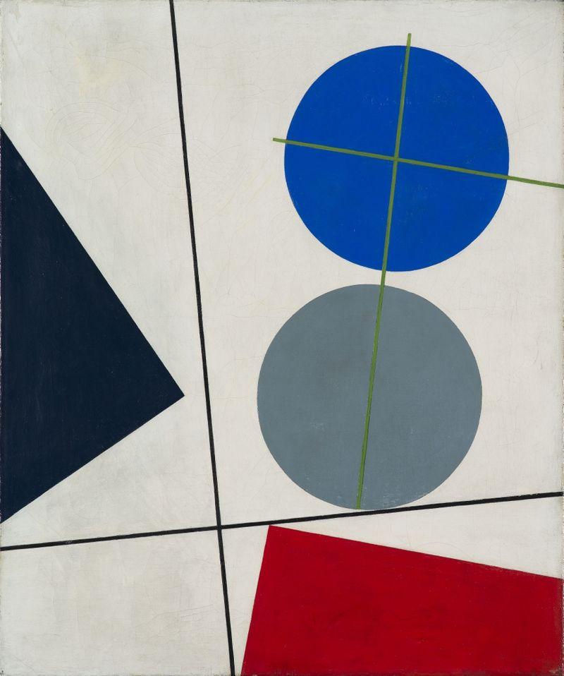 Sophie Taeuber-Arp, Compoziție, 1931.