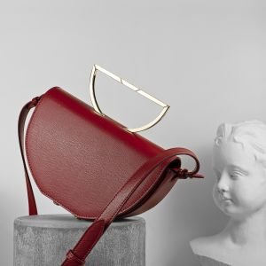 ZAHA DARK RED BAG 8