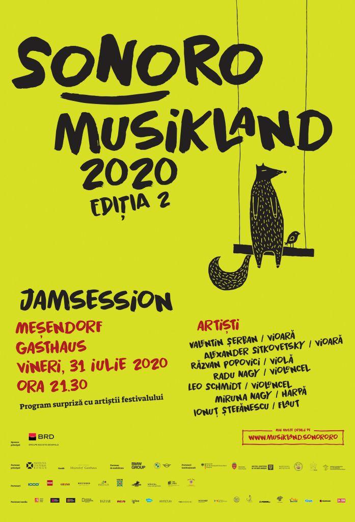 afis Sonoro Musikland 2020 MESENDORF Gasthaus