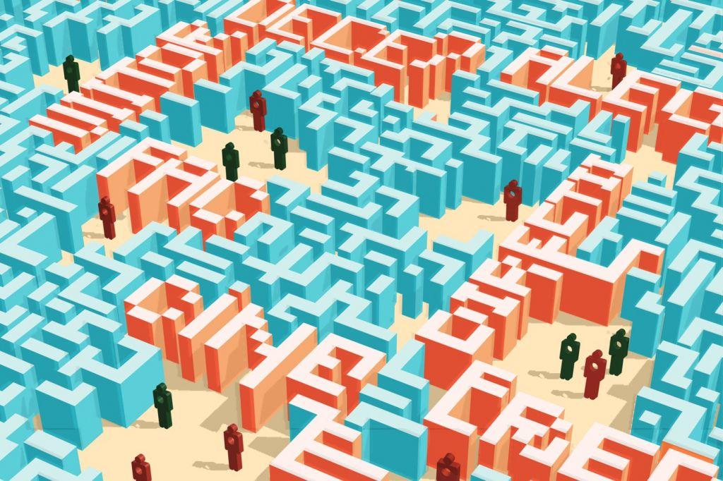 Cine ești tu? Emergența în artele vizuale: Labirintul cunoașterii - Ioana Mihai