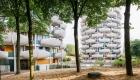 Ansamblul de blocuri Les Choux de Creteil, din apropierea Parisului. Arhitect: Gérard Grandval (1974)