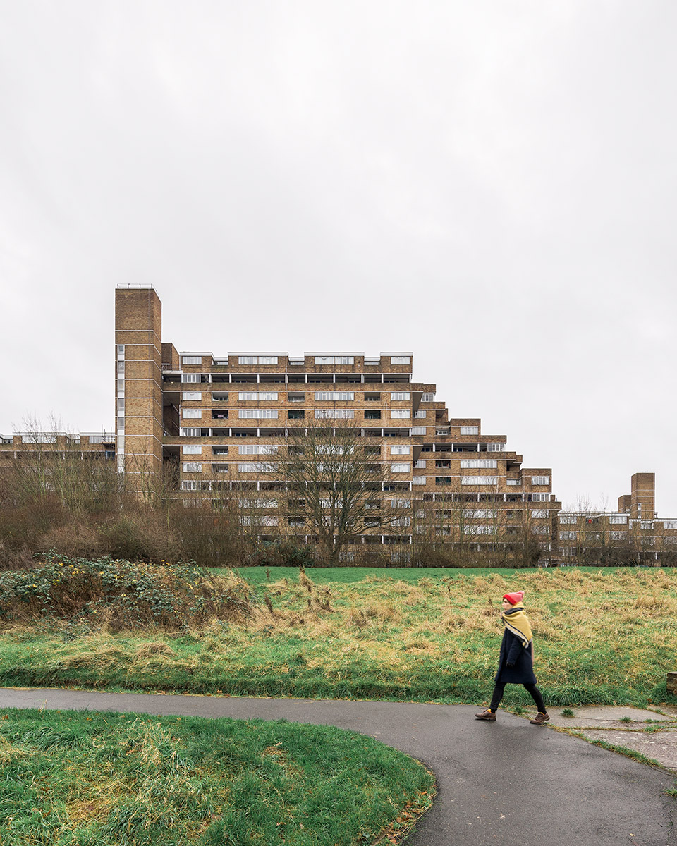 Dawson's Heights Estate, Londra. Arhitect: Kate Macintosh (1972)