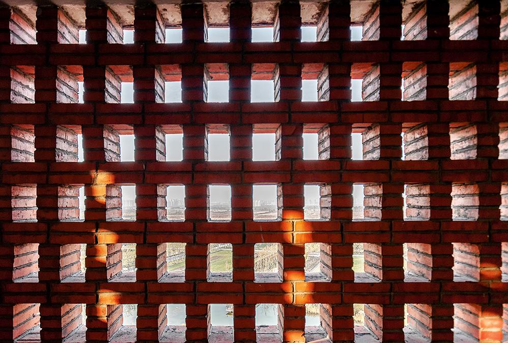 Imagine din Dosar igloo #188 / Turnul din cărămidă, Parcul Botanic Hengshui, Provincia Hebei, China – Interval Architects / Foto: Zhi Geng