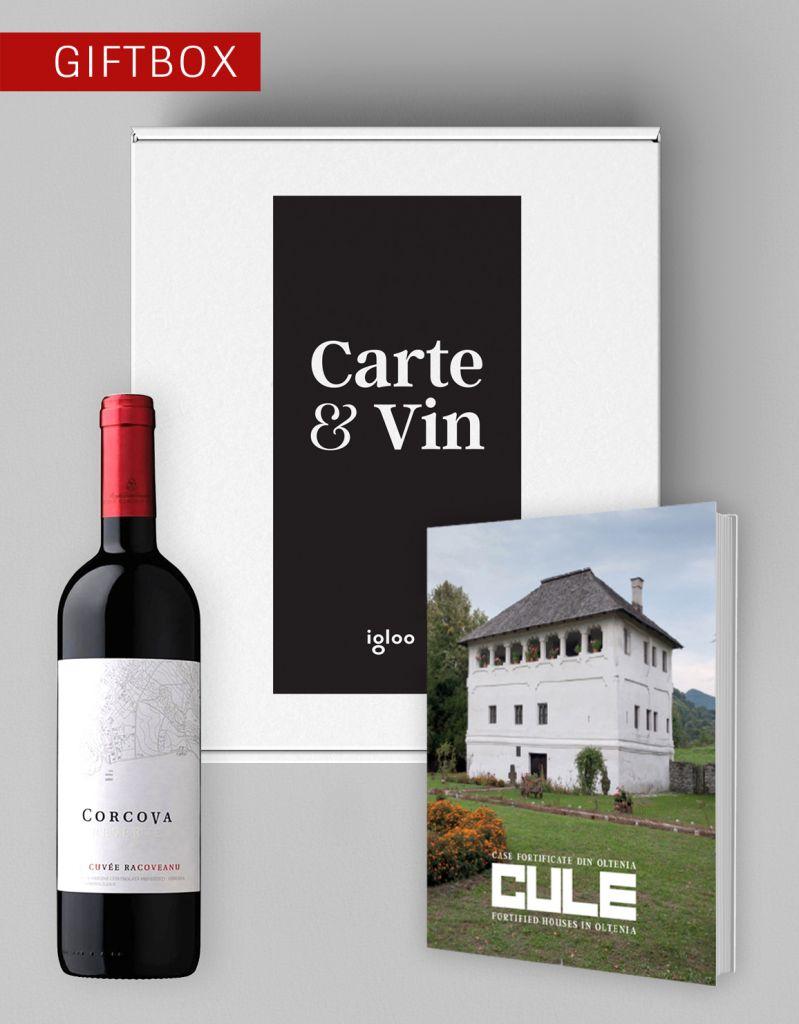 """Giftbox """"Carte și Vin"""" – Cule"""
