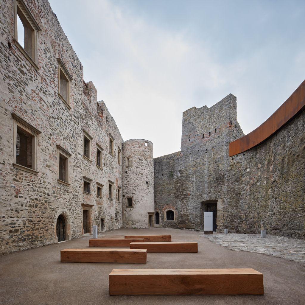 Apărarea ruinei. Castelul Helfštýn