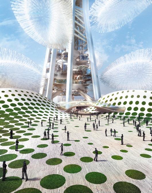 """Povestea """"copacului tehnologic"""" Taiwan Tower. De vorbă cu arhitectul Dorin Ştefan"""