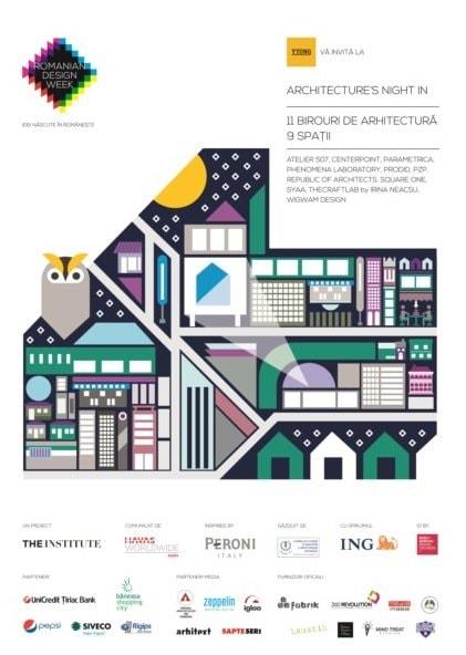 ARCHITECTURE'S NIGHT IN // 22 MAI