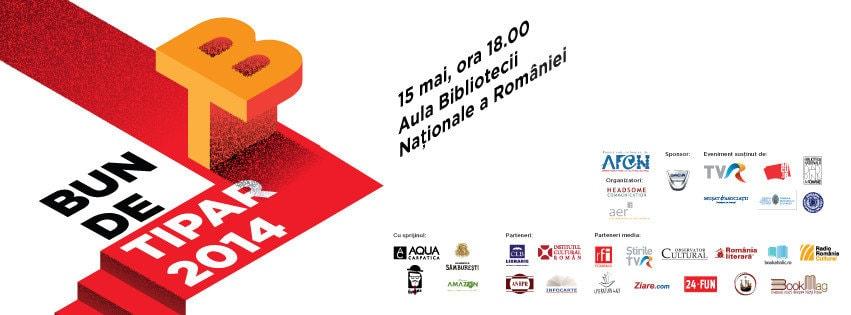 Albumul Mândrie şi Beton pe lista cărţilor finaliste la gala Bun de Tipar 2014