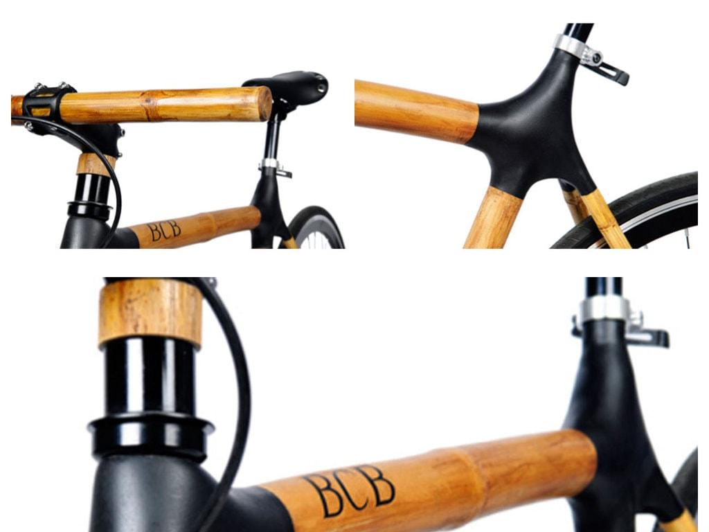 Cu bicicleta prin oraş / Cadrul din bambus