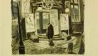 """""""Intrarea principală de la Îngerul Albastru"""" de Otto Hunte (1881 – 1960); © DFF – Deutsches Filminstitut & Filmmuseum, Frankfurt am Main / Sammlung Otto Hunte"""
