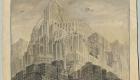 """Orașul fiilor"" de Erich Kettelhut (1893 – 1979); © Erich Kettelhut; Deutsche Kinemathek Berlin"